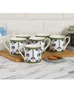 India Circus by Krsnaa Mehta Earthy Symmetry Espresso Mug Set of 6