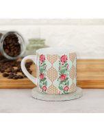 India Circus Floral DNA Espresso Mug