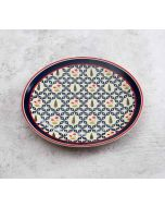 India Circus Flowers and Ferns Quarter Plate