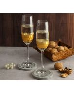 India Circus Gold Honeycomb Champagne Glass (Set of 2)