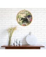 India Circus Manoeuvres in the Nature Decor Plate