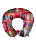 India Circus Mughal Doors Reiteration Neck Pillow
