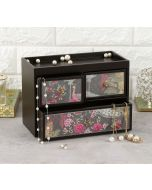 India Circus Peacock Garden Chest of Drawer
