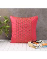 India Circus Rice Bead Pink Cushion Cover