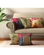 India Circus Royal Court Cushion Cover Set of 5