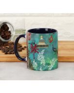 India Circus The Peacock Throne Coffee Mug
