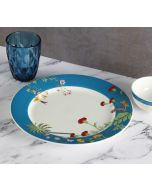 India Circus Tropical Island Living Dinner Plate