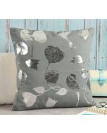 India Circus Whispering Birds Foil Cushion Cover