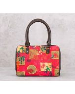 India Circus Wildlife Stamps Small Duffle Bag