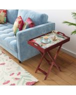 India Circys by Krsnaa Mehta Feathered Garden Tray Table