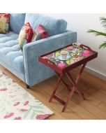 India Circys by Krsnaa Mehta Warbled Verdure Tray Table