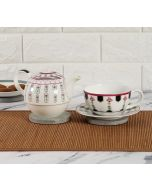 India Cirucs Appliqued Harmony Tea for One