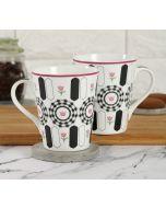 India Cirucs Appliqued Harmony Zing Mug (Set of 2)