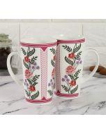 India Cirucs Verdure Mystery Conical Mug (Set of 2)