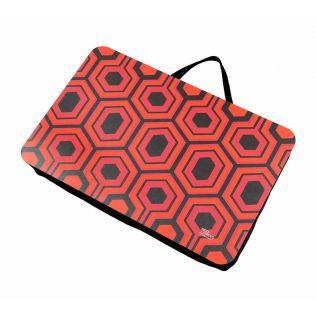 Prismatic Hexagons Lap Tray