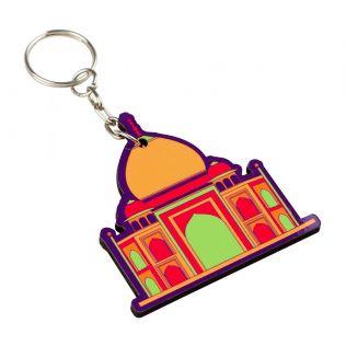 Mumtaz's Taj Keychain