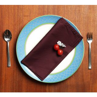 India Circus Amethyst Table Napkin Set of 6