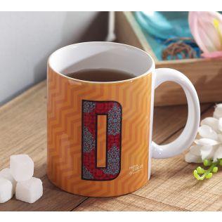 India Circus Dazzling Alphabet D Mug