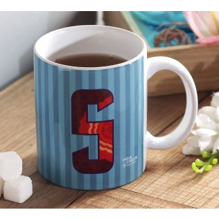 India Circus Sophisticated Alphabet S Mug