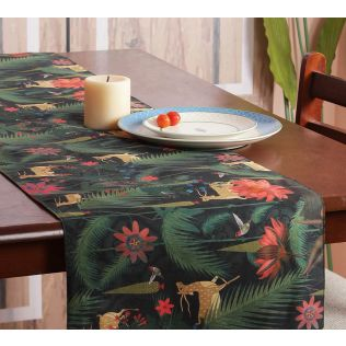 India Circus Forest Fetish Bed and Table Runner
