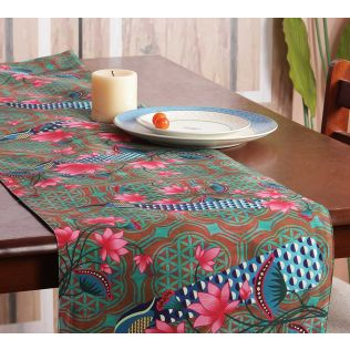 India Circus Realm of Pride Bed and Table Runner