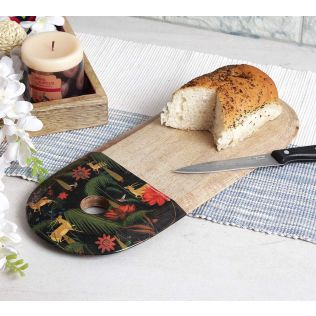 India Circus Forest Fetish Cheese/Chopping Board