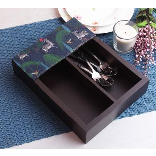 India Circus Forest Fetish Cutlery Tray