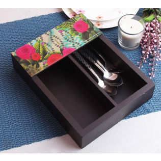 India Circus Herbs of Captivation Cutlery Tray