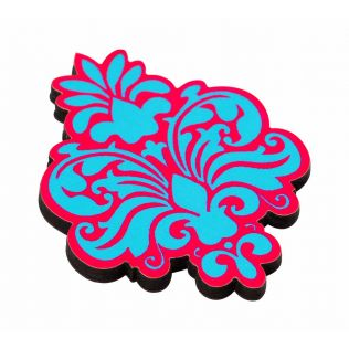 Floral Blossom MDF Fridge Magnet