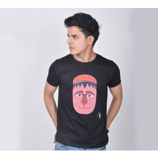India Circus by Krsnaa Mehta Funky Mood Unisex Extra Small T-Shirt