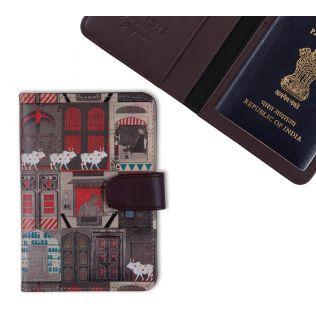 India Circus Doors of Mystical Wonder Passport Cover