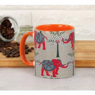 India Circus Elephanta Eclipse Coffee Mug