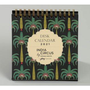 India Circus Island Palms Calendar