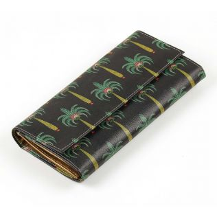 India Circus Island Palms Ladies Wallet