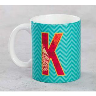 India Circus King-sized Alphabet K Mug