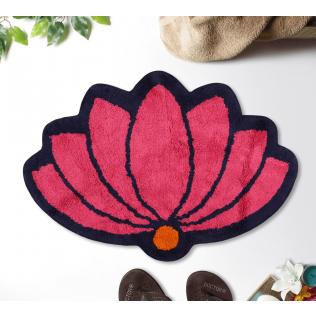 India Circus Lotus C'est La Vie Shape Bath Mat