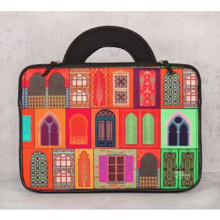 India Circus Mughal Doors Reiteration 13-inch Laptop Bag