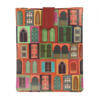 India Circus Mughal Doors Reiteration iPad Sleeve