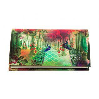 India Circus Peacock Dwar Visiting Card Holder