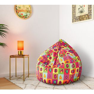 India Circus Popsicle Lips Bean Bag Cover