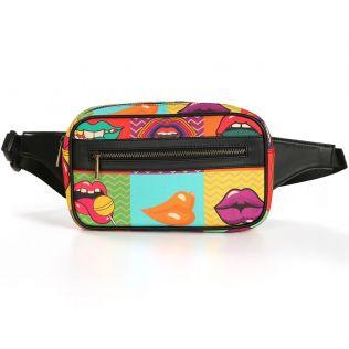 India Circus Popsicle Lips Belt Bag