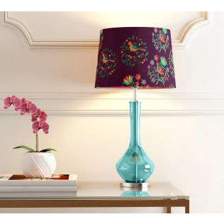 India Circus Psittacines Enquiry Conical Lamp Shade