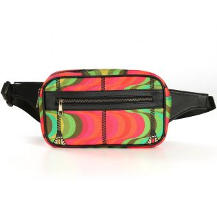 India Circus Ripple in a Zipper Belt Bag