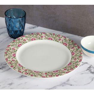 India Circus Rose Mallow Moscheutos Dinner Plate