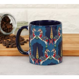 India Circus Royal Kaleidoscope Coffee Mug