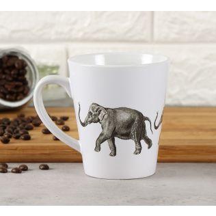 India Circus Stanced Mastodon Coffee Mug