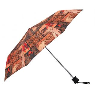 India Circus The Mughal Era 3 Fold Umbrella