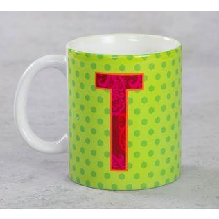 India Circus Topnotch Alphabet T Mug