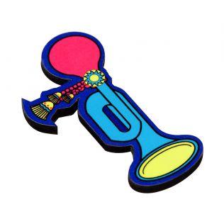 Reed Bulb MDF Fridge Magnet