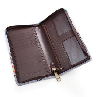 Bedlam Bazaaar Travel Wallet